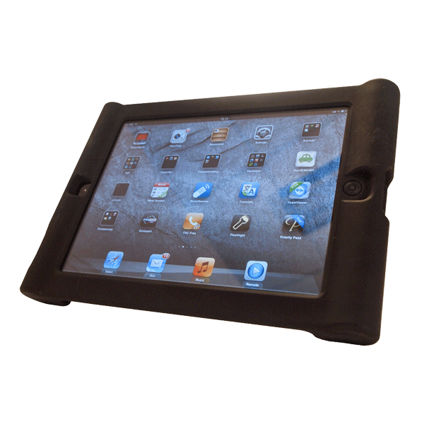 IPad 9,7″ Cover, Sort Med Stand