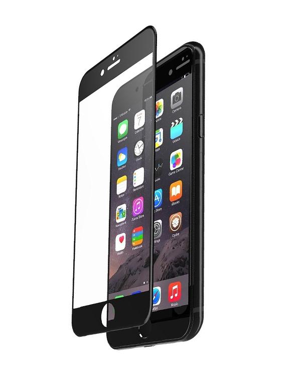 Umates Panserglas IPhone 8 Sort