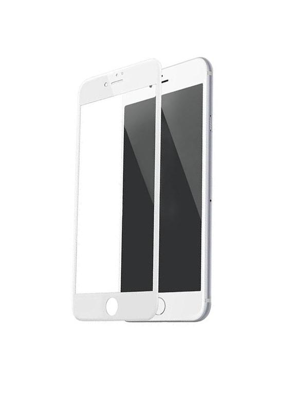 Umates Panserglas IPhone 8+ Hvid