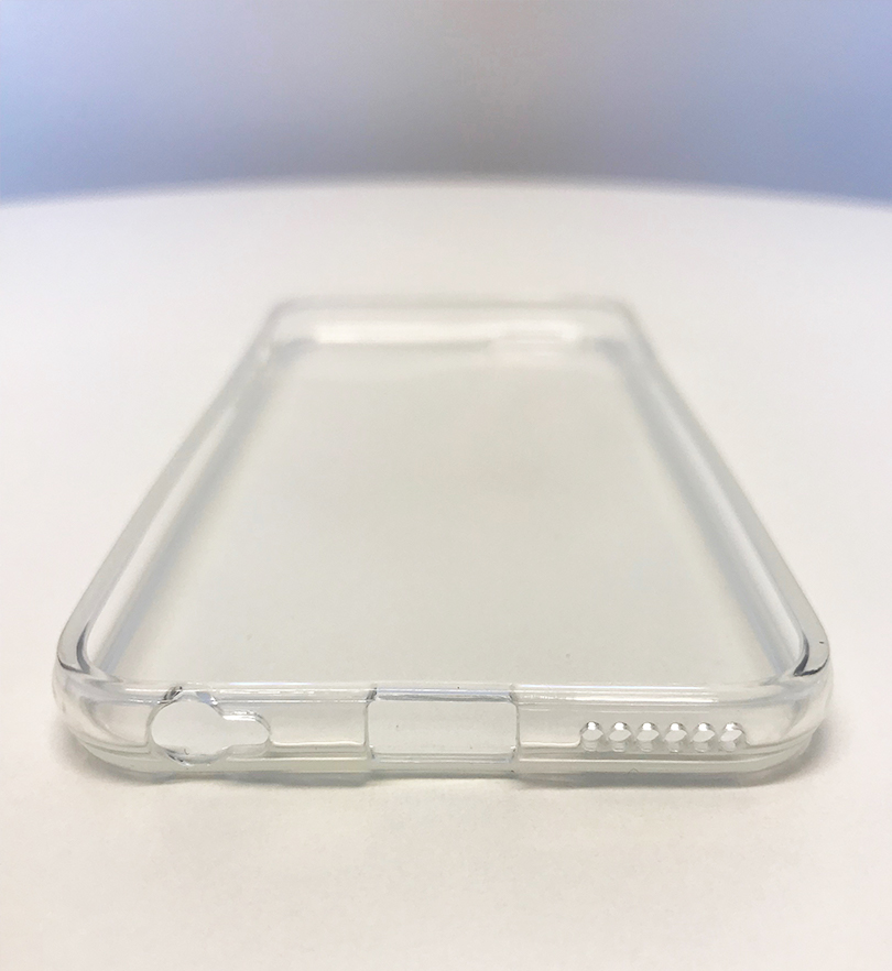 IPhone Silicone Cover Front Side From UMATES - Transparent White
