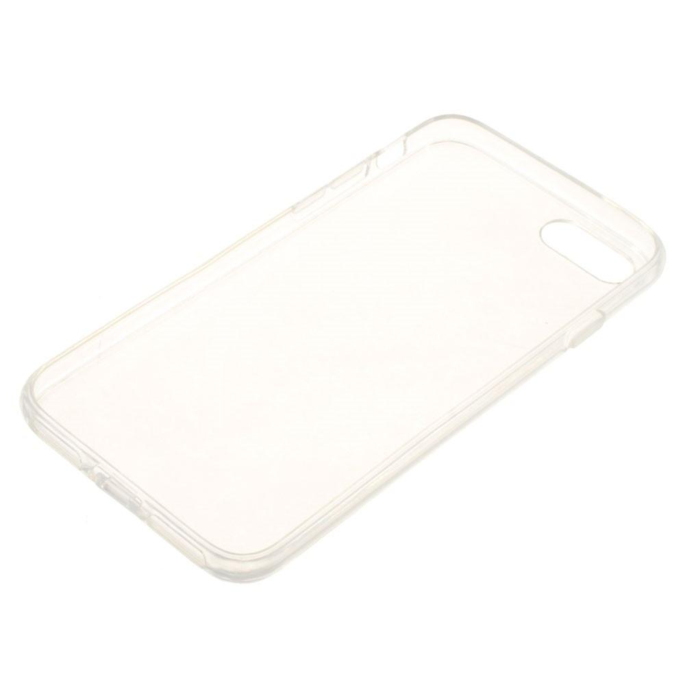 IPhone Silicone Cover Slanted From UMATES - Transparent White